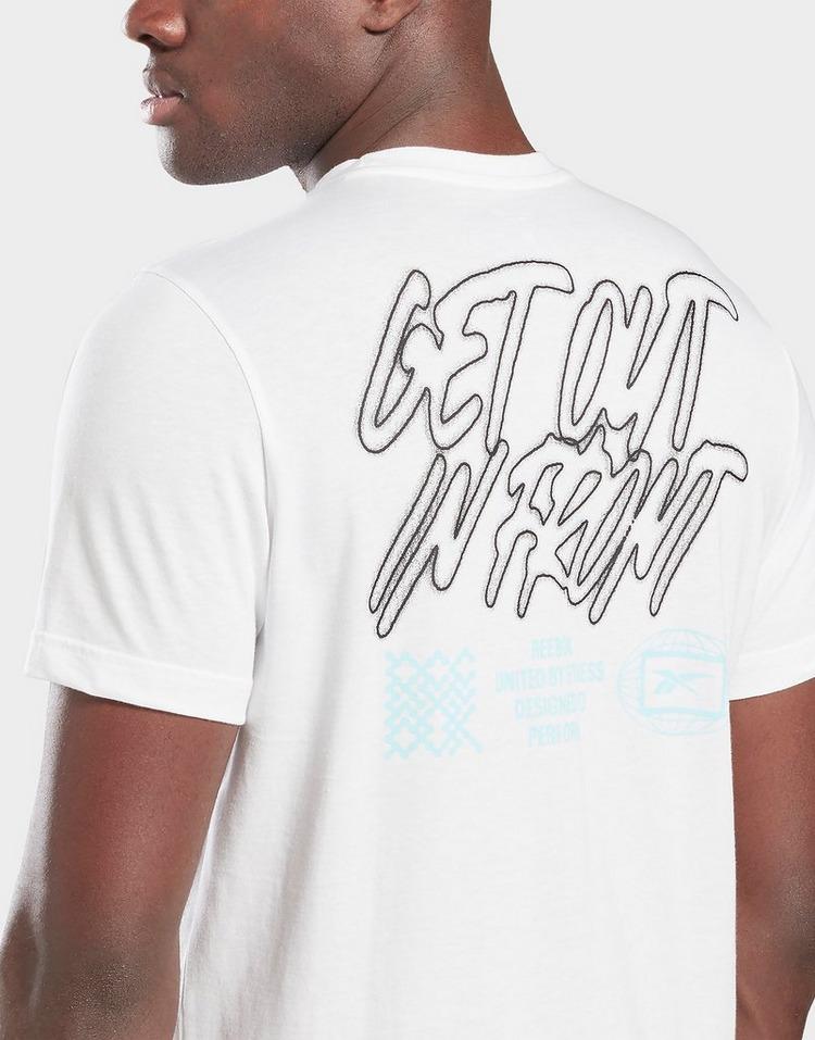 Reebok t-shirt retro vector