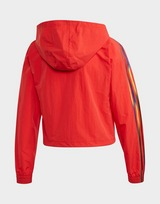 adidas Originals Adicolor Half-Zip Crop Top