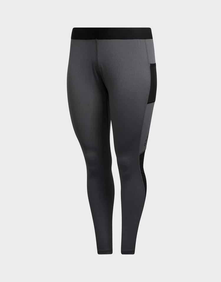 adidas Alphaskin Sport Long Leggings (Plus Size)