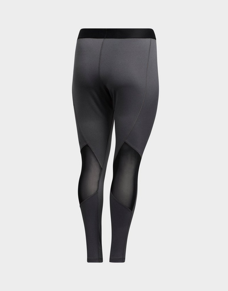 adidas Alphaskin Sport Long Leggings (Plus Size)