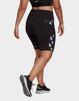 adidas Own The Run Celebration Running Short Tights (Plus Size)