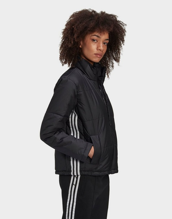 Shop den adidas Originals short puffer jacke in Schwarz