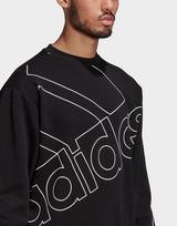 adidas Giant Logo Sweatshirt (Gender Neutral)