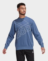 adidas Giant Logo Sweatshirt (Gender Neutral)