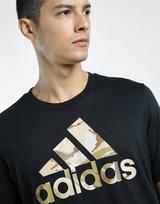 adidas เสื้อผู้ชาย Essentials Camouflage Print
