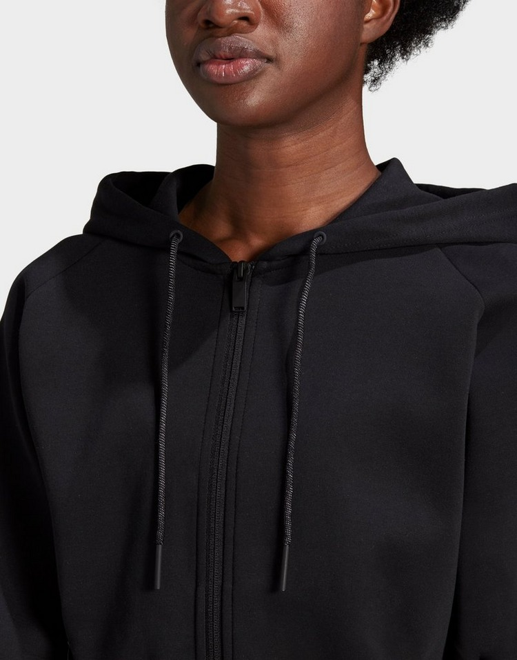 adidas Sportswear Wrapped 3-Stripes Full-Zip Hoodie
