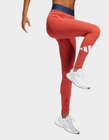 adidas Techfit Life Mid-Rise Badge Of Sport Long Leggings