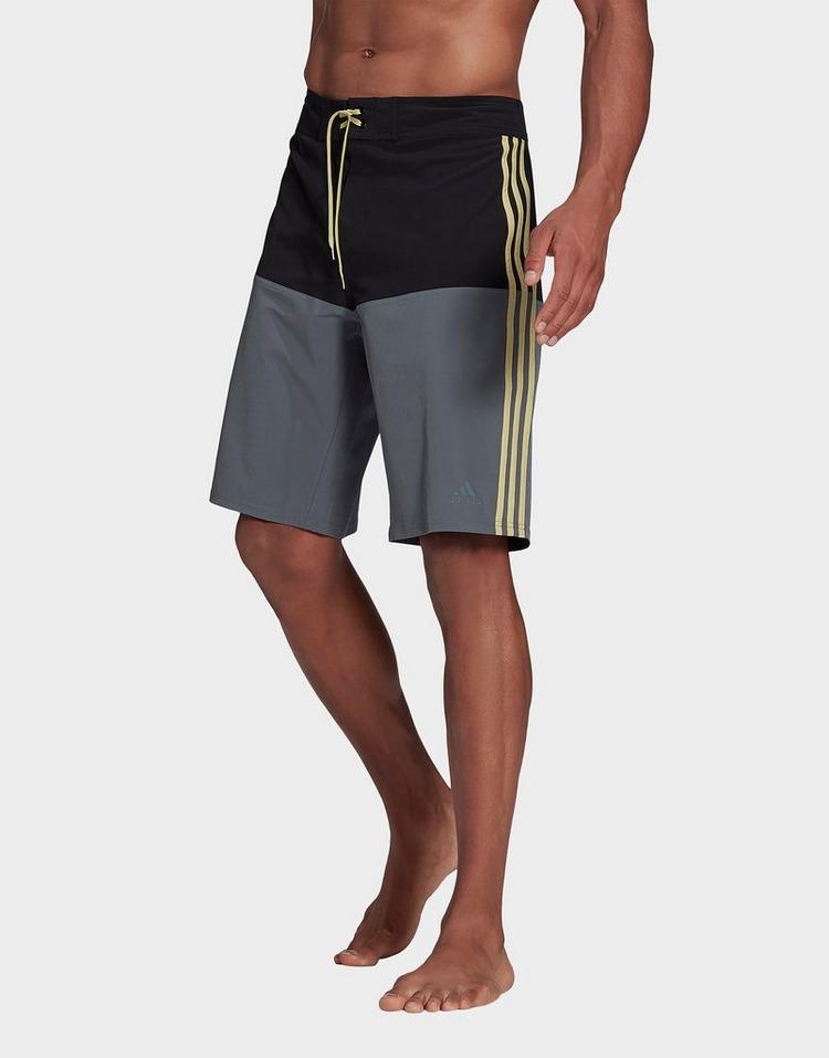 adidas Knee-Length Colorblock Board Shorts