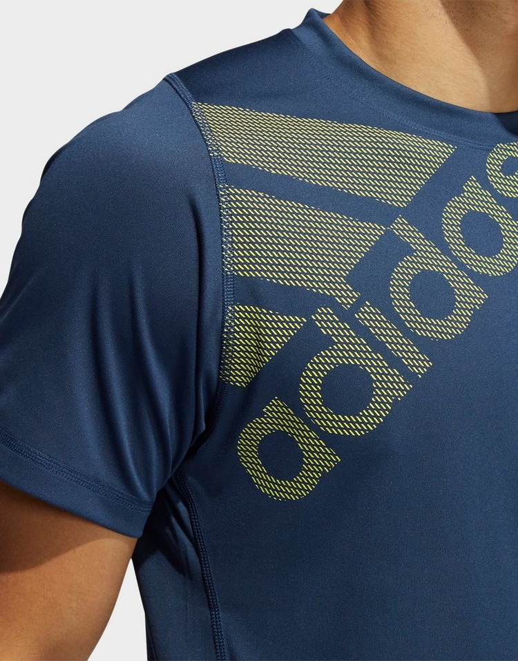 adidas FreeLift Badge of Sport Graphic Tee