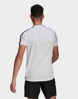adidas Own The Run 3-Stripes Running T-Shirt