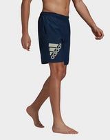 adidas Classic-Length Logo Swim Shorts
