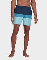 adidas Short-Length Colorblock Swim Shorts