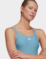 adidas SH3.RO 3-Stripes Colorblock Swimsuit