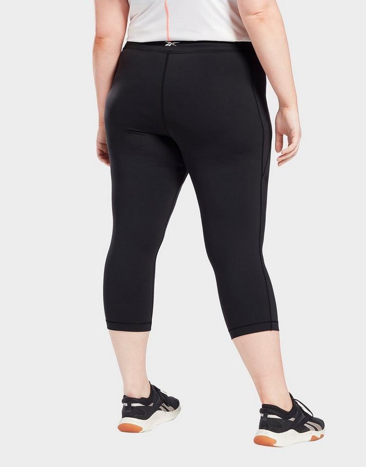 Reebok lux 3/4 leggings (plus size)