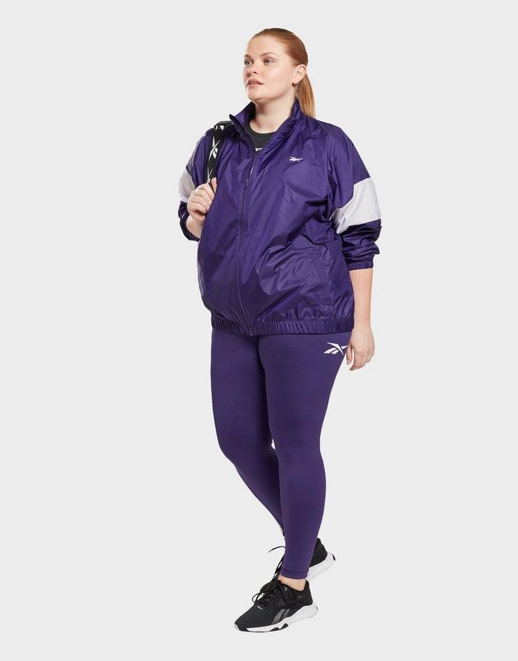 Reebok linear logo leggings (plus size)
