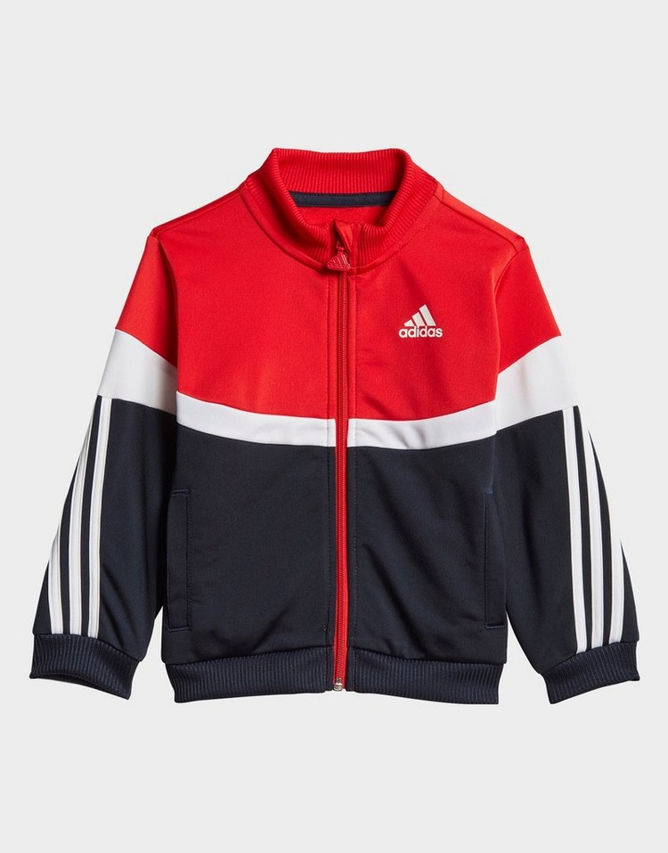 adidas Shiny Badge of Sport 3-Stripes Tracksuit