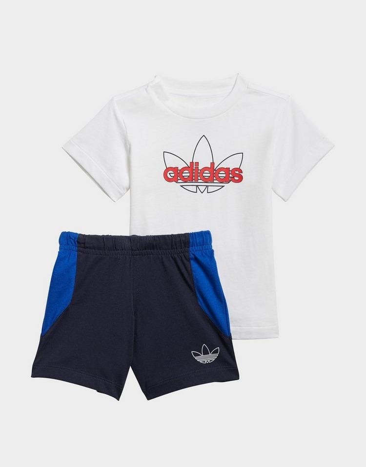 adidas Originals SPRT Collection Shorts Graphic Tee Set
