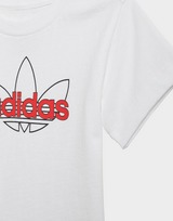adidas Originals SPRT Collection Shorts Graphic Tee Set