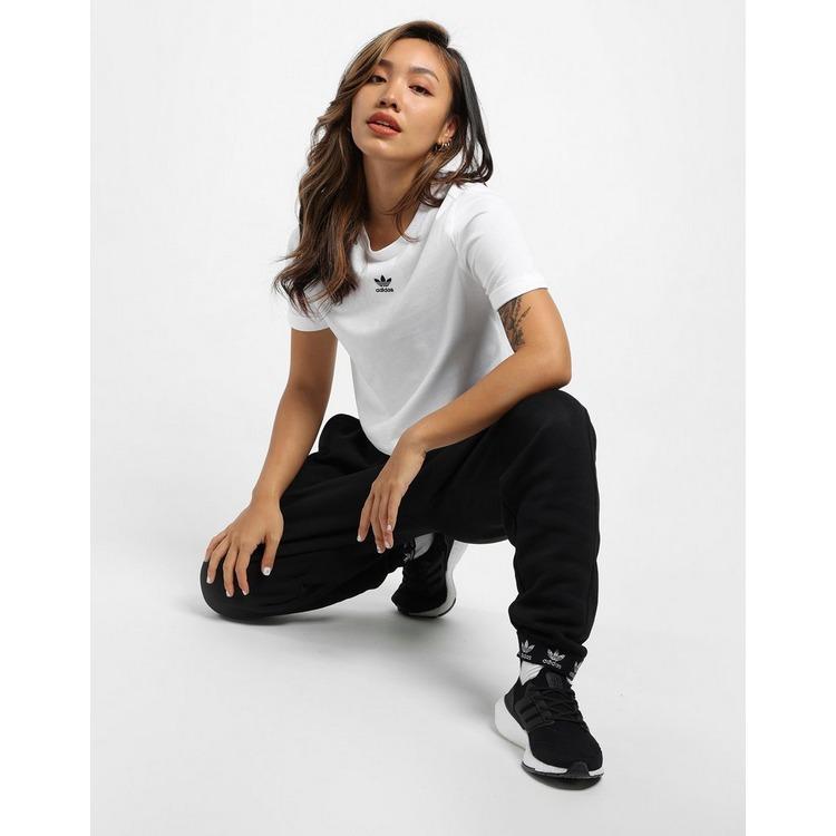 adidas Originals เสื้อคร็อปแขนสั้น