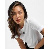 adidas Originals Adicolor Classics Roll-Up Sleeve Crop Top