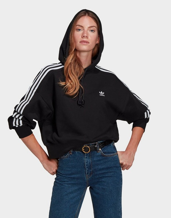 adidas Originals 3-Stripes Adicolour Crop Hoodie Women's