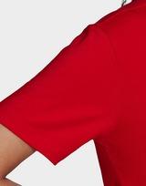adidas Originals เสื้อแขนสั้น TREFOIL TEE SCARLET