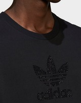 adidas Originals Trefoil Rhinestone T-Shirt