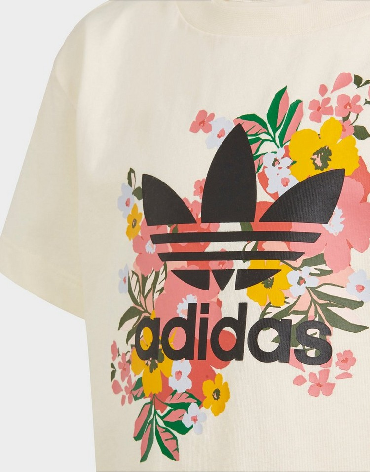 adidas ชุดเซตเด็กโต Floral Trefoil