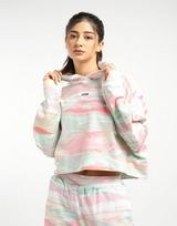 adidas Originals เสื้อคร็อป R.Y.V Tie Dye