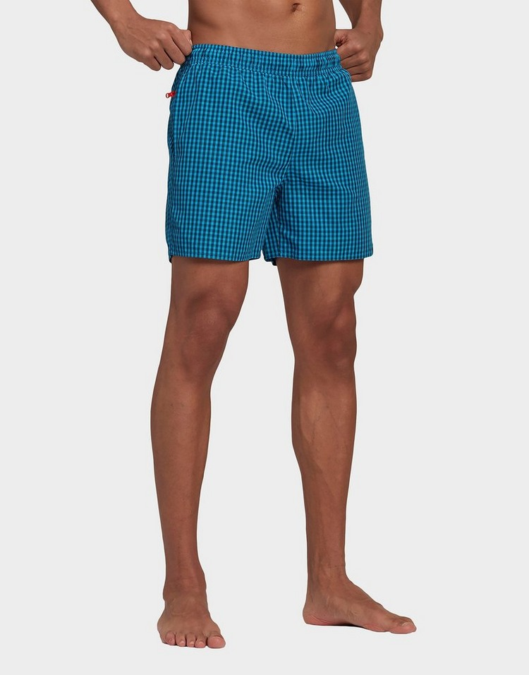 adidas Check Swim Shorts