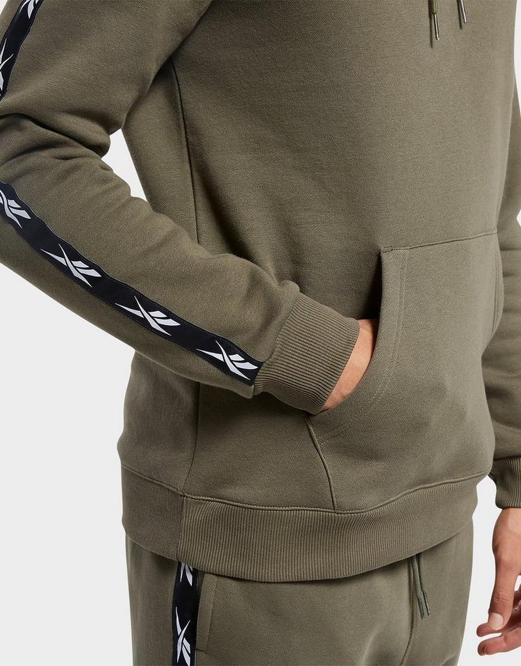 Reebok training essentials tape hoodie