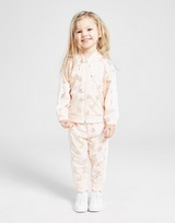 adidas Originals Girls' Trefoil All Over Print SS Tracksuit Infant