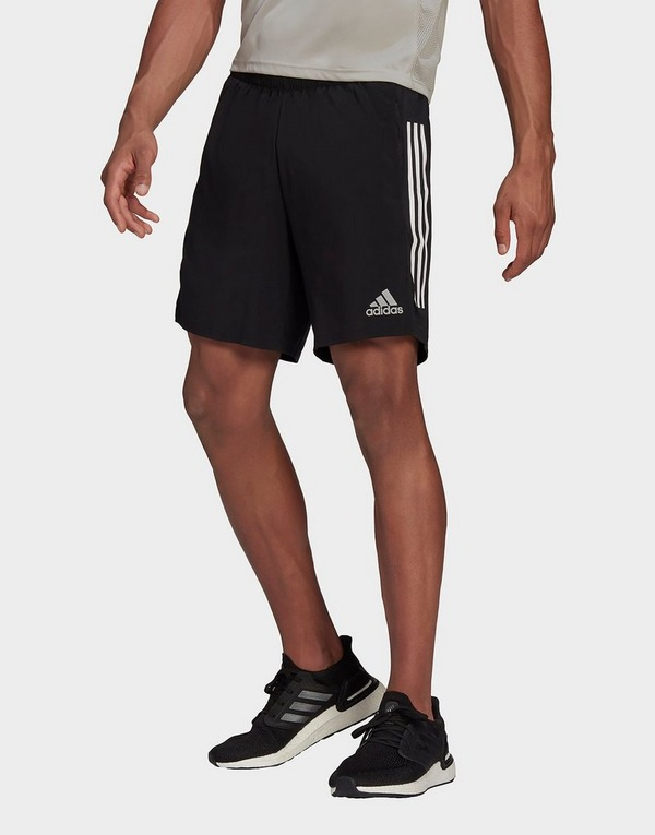 adidas Own The Run 3-Stripes Shorts