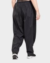 Reebok studio shiny woven tracksuit bottoms (plus size)