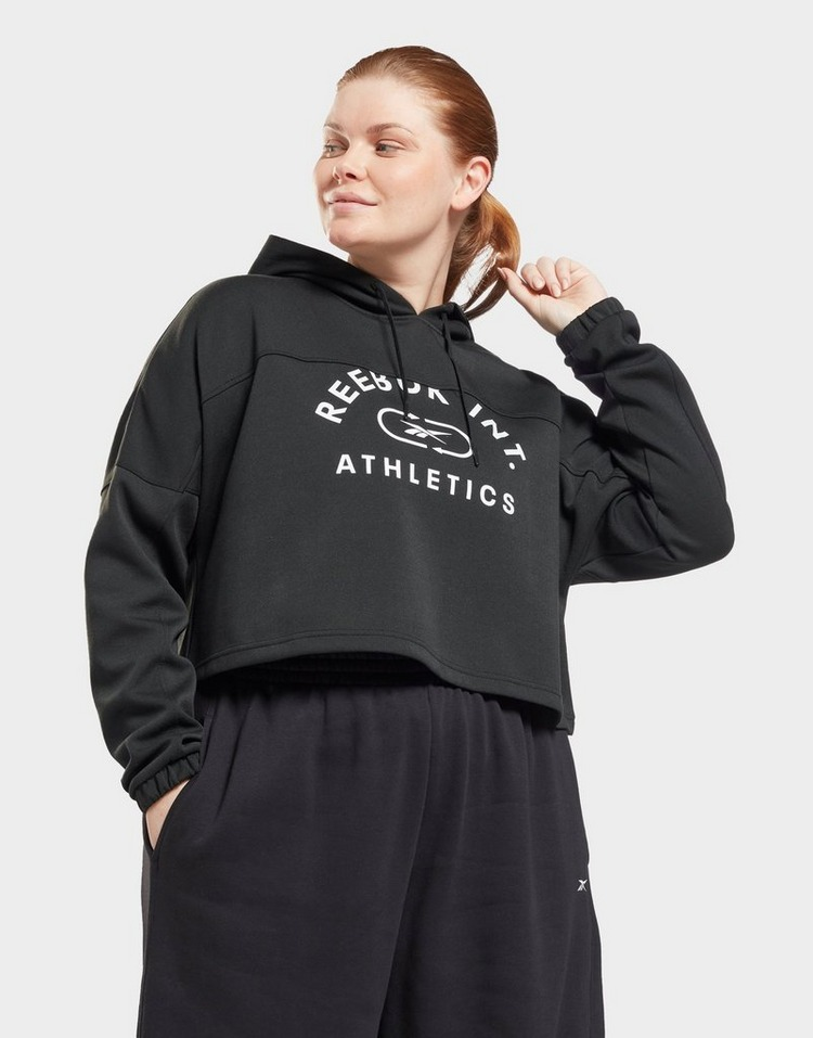 Reebok workout ready sweatshirt (plus size)