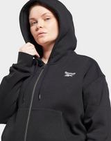 Reebok reebok identity zip-up hoodie (plus size)