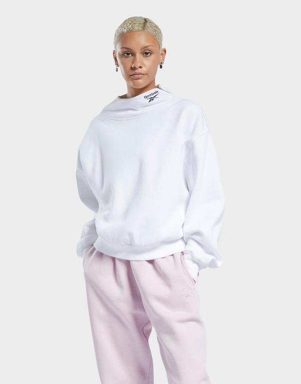 Reebok classics cozy fleece cowl neck sweatshirt