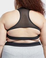 Reebok reebok lux racer medium-impact sports bra (plus size)