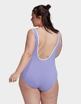 adidas Originals Adicolor Classics Primeblue Swimsuit (Plus Size)