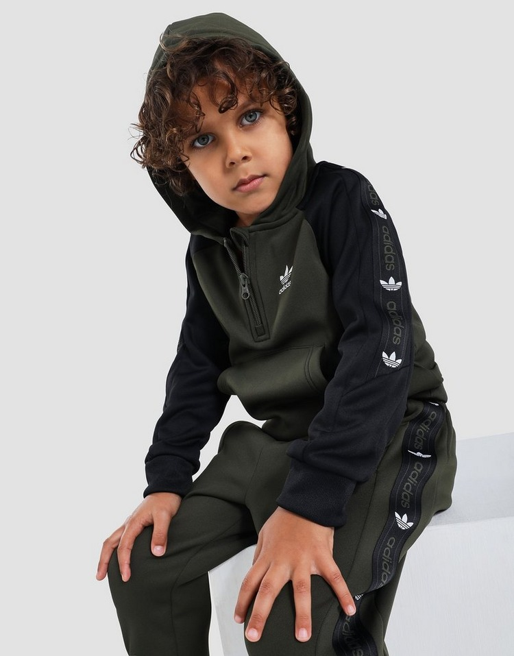 adidas Originals On Edge 1/4 Zip Track Top Set Children's