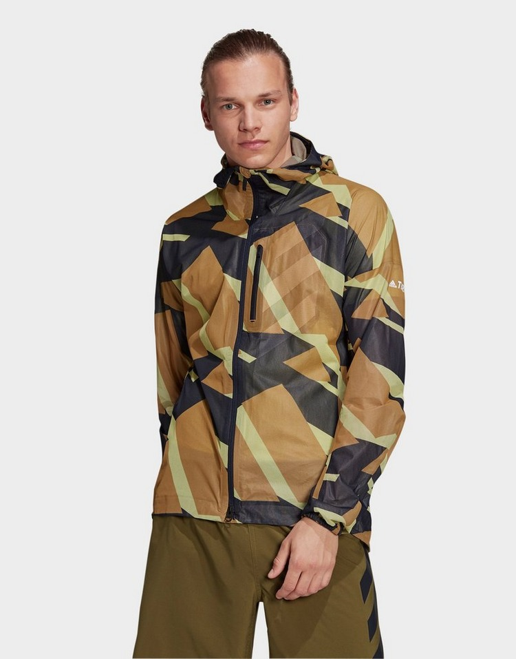 adidas Terrex Agravic Graphic 2.5 Layer Rain Jacket