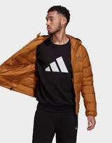 adidas Helionic Hooded Down Jacket