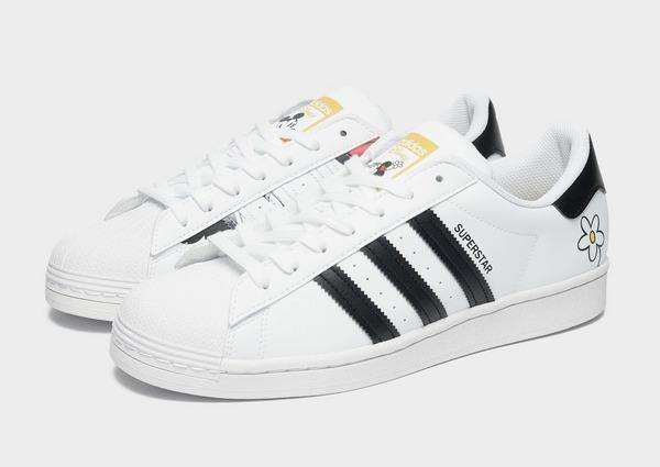White adidas Originals Superstar x Mickey Mouse   JD Sports