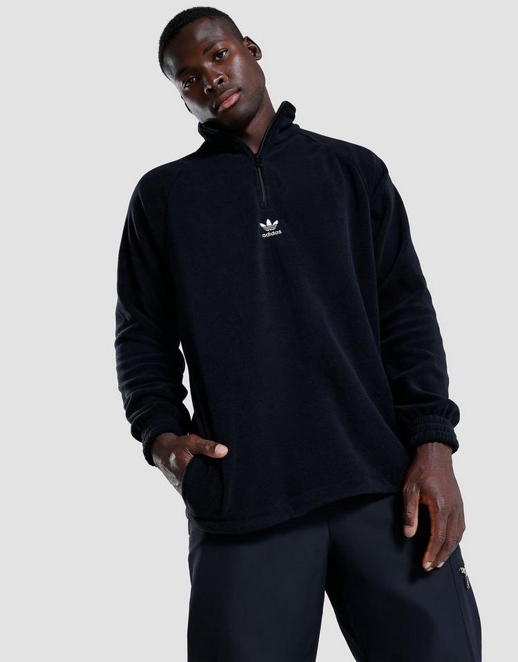 adidas Originals Teddy Fleece Half-Zip Jacket