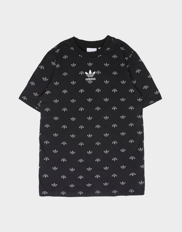 adidas Originals All Over Print Trefoil T-Shirt Junior