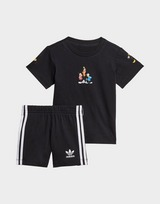 adidas Originals Disney Mickey and Friends Shorts and Tee Set