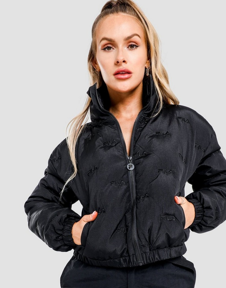 Fila Embroidered Puffer Jacket