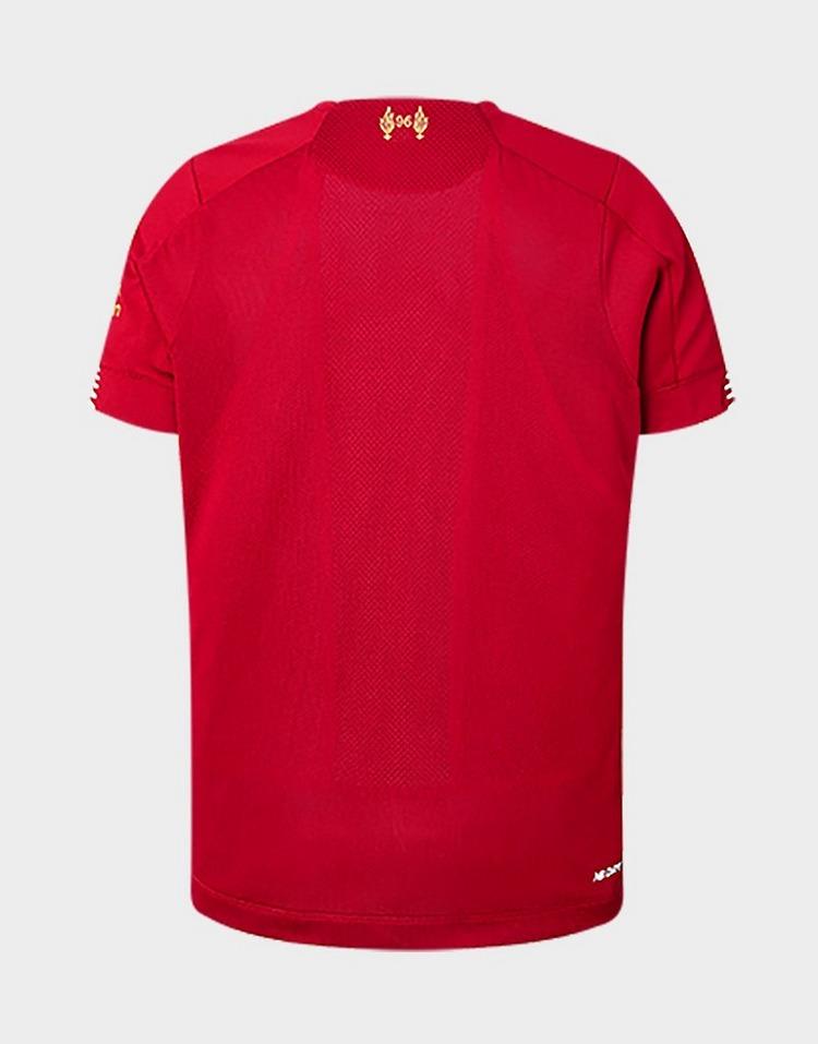 New Balance Liverpool FC 19/20 Home Champions Shirt Junior