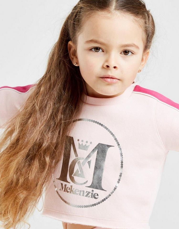 McKenzie Girls' Mini Edie Crew Tracksuit Children ชุดแทรคสูทเด็ก
