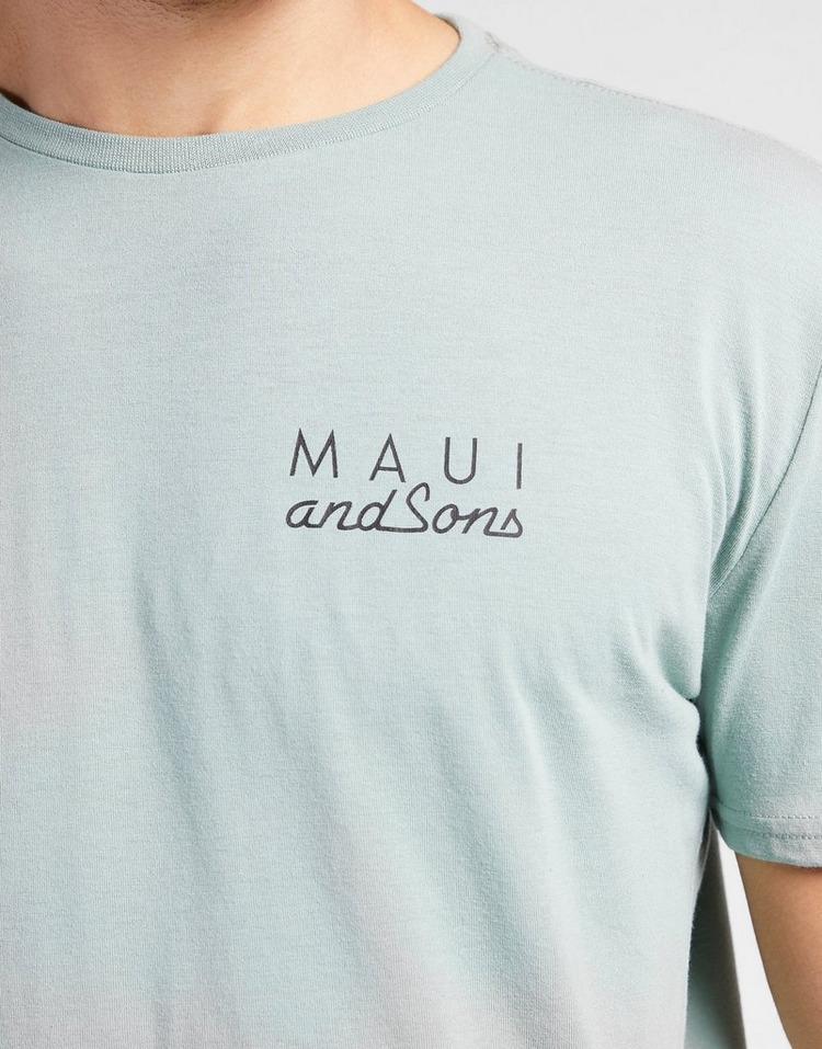 MAUI AND SONS ผู้ชาย Logo T-shirt